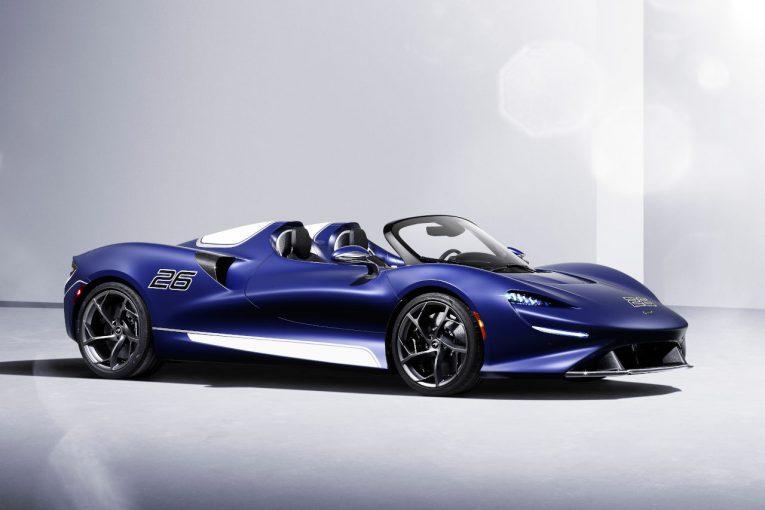 クルマ | マクラーレンの最軽量ロードスター『エルバ』にスクリーン付きモデルが新登場