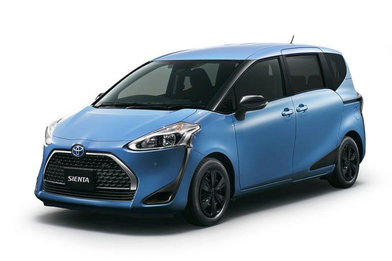 クルマ | トヨタ・シエンタが一部改良。ブラックアイテムと安全機能装備の特別仕様車も登場