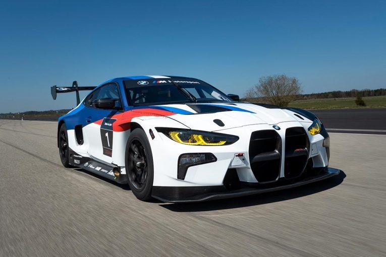 ル・マン/WEC   BMW、ニュルブルクリンク24時間に先駆け新型M4 GT3を正式にお披露目