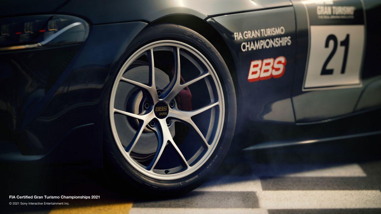 BBSがバーチャルレースにも進出『FIA GTチャンピオンシップ2021シリーズ』の公式パートナーに
