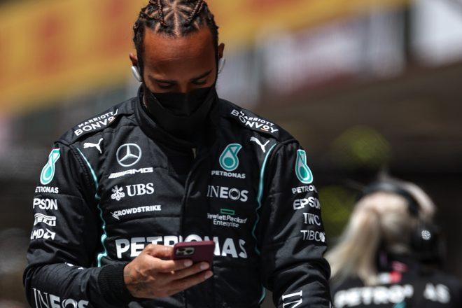 2021年F1ポルトガルGP ルイス・ハミルトン(メルセデス)