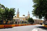 2021年F1第6戦アゼルバイジャンGP バクー市街地サーキット