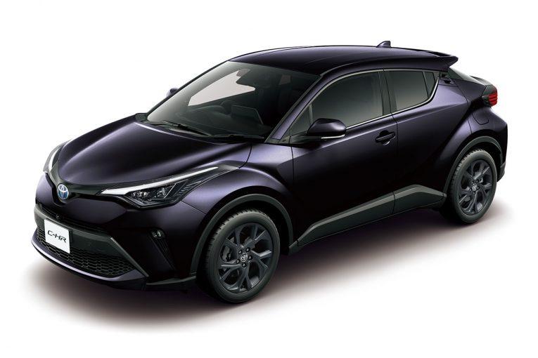 クルマ | トヨタC-HRにブラック基調のクールな特別仕様車が登場。安全装備も充実させ6月4日発売
