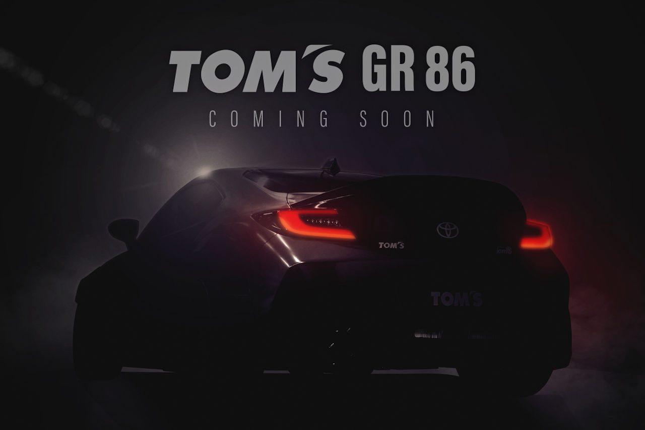トムス、初公開となる『TOM'S GR86 CONCEPT』をFUJI 86 STYLE with BRZ 2021に出展