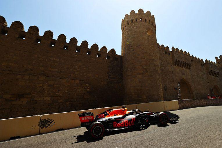 F1 | アゼルバイジャンGP FP1:フェルスタッペンがトップタイム。フェラーリのルクレール、サインツが続く
