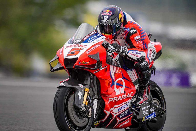 MotoGP | MotoGP第7戦:10コーナー改修後初のカタルーニャGP、初日総合トップはザルコ。中上貴晶は11番手