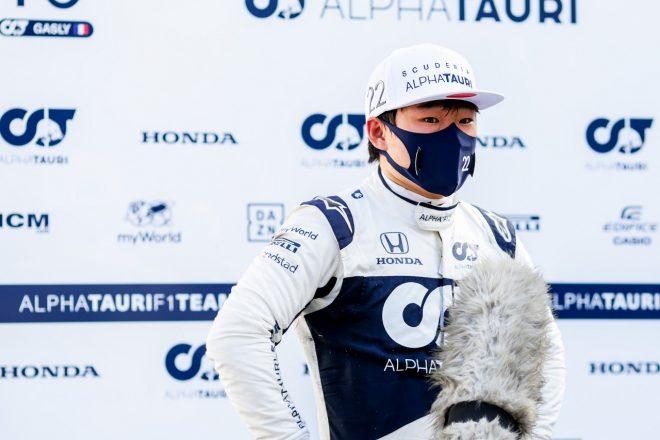 2021年F1第6戦アゼルバイジャンGP 角田裕毅(アルファタウリ・ホンダ)