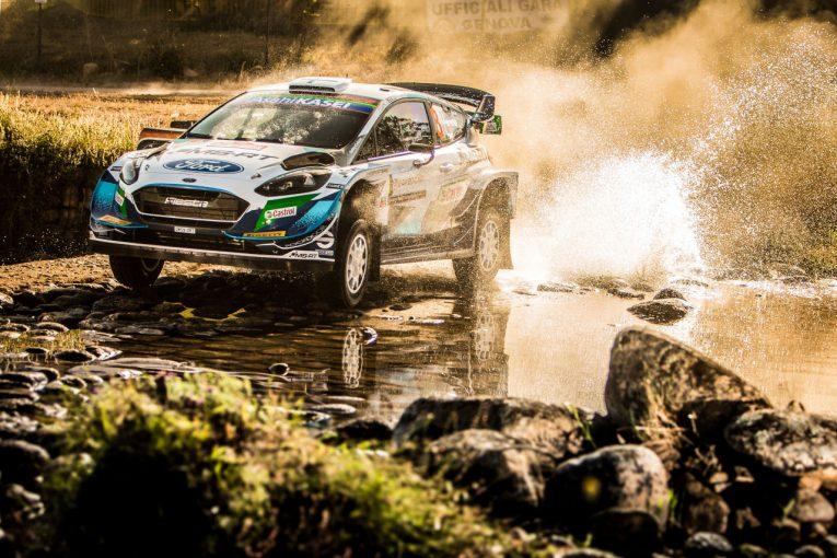 ラリー/WRC   【順位結果】2021年WRC第5戦イタリア SS8後
