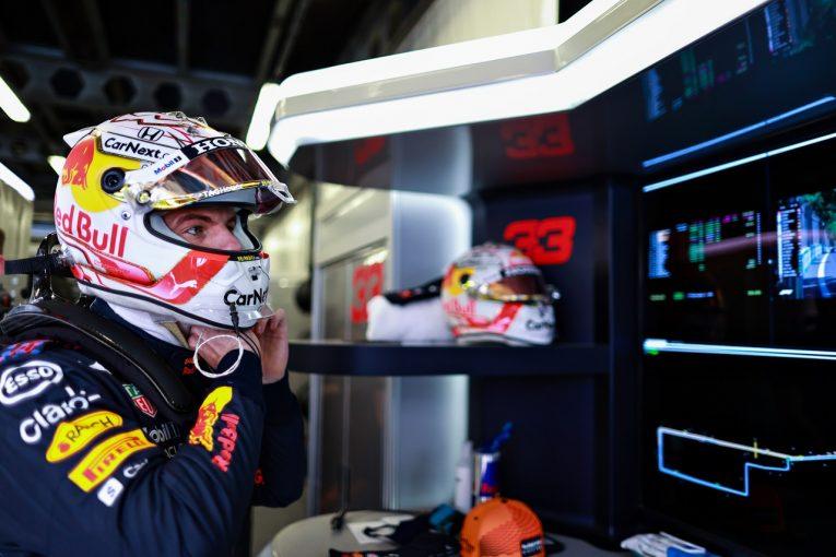 F1 | フェルスタッペン、ペレスの靴で走行も支障なし「セットアップ変更で後退したが、全体的にいい一日」F1第6戦金曜