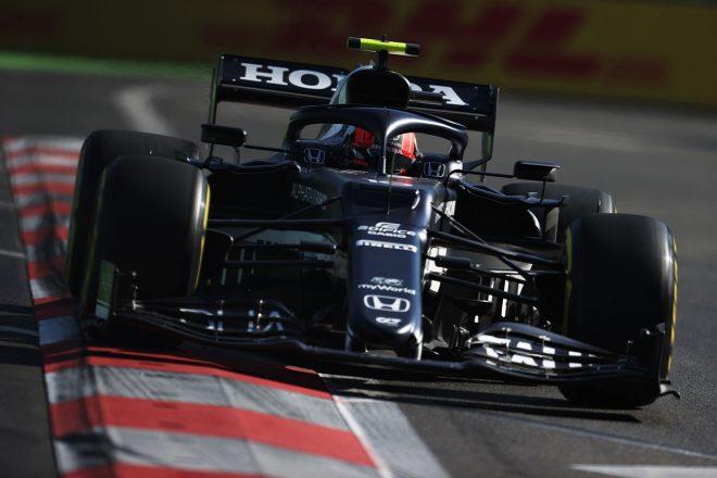 2021年F1第6戦アゼルバイジャンGP ピエール・ガスリー(アルファタウリ・ホンダ)