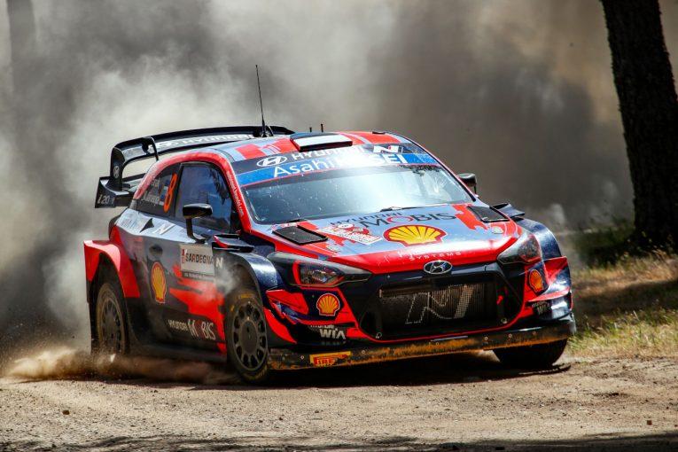 ラリー/WRC   タナク快走! ソルドが続きヒュンダイ初日1-2。トヨタ最上位は3番手オジエ/WRCイタリア