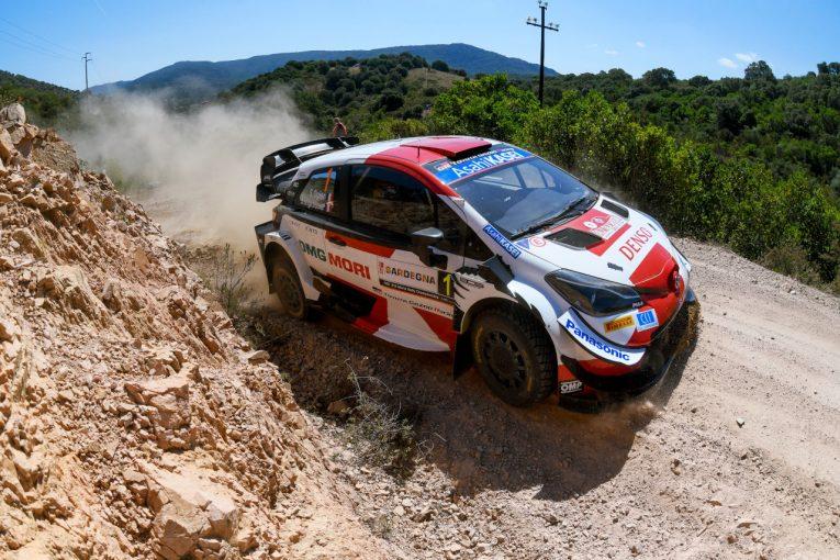 ラリー/WRC   トヨタ、不利な先頭スタートのオジエが初日3番手「自分たちの仕事に満足」/WRCイタリア