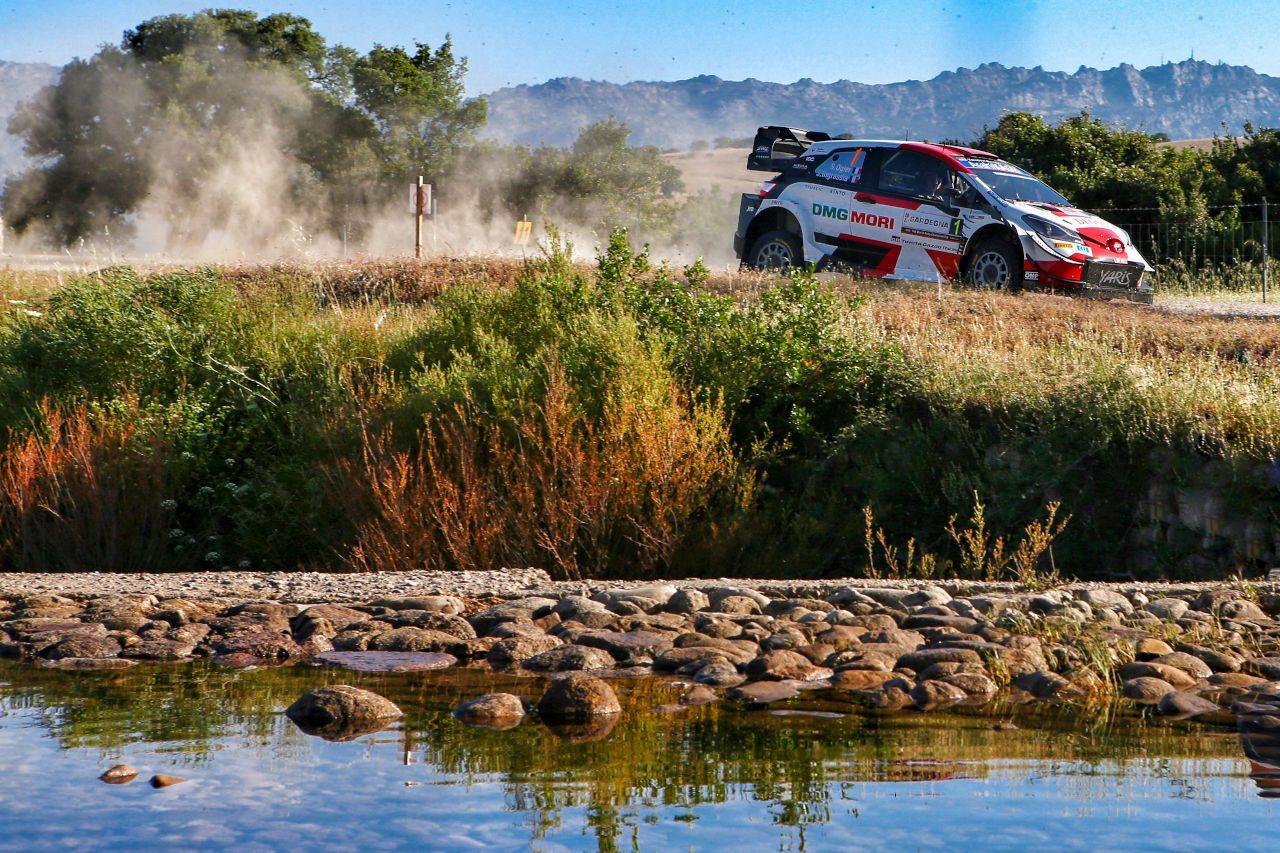 トヨタ、不利な先頭スタートのオジエが初日3番手「自分たちの仕事に満足」/WRCイタリア