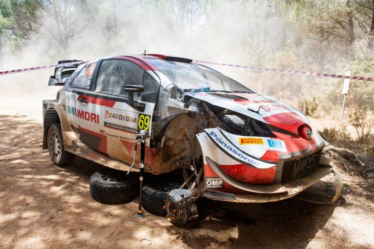 ラリー/WRC | 2番手走行中にトラブル「うまくいっていたのに残念」とロバンペラ/WRC第5戦イタリア デイ1後コメント