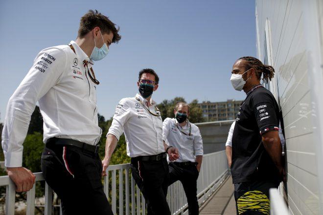 2021年F1第6戦アゼルバイジャンGP ルイス・ハミルトン(メルセデス)