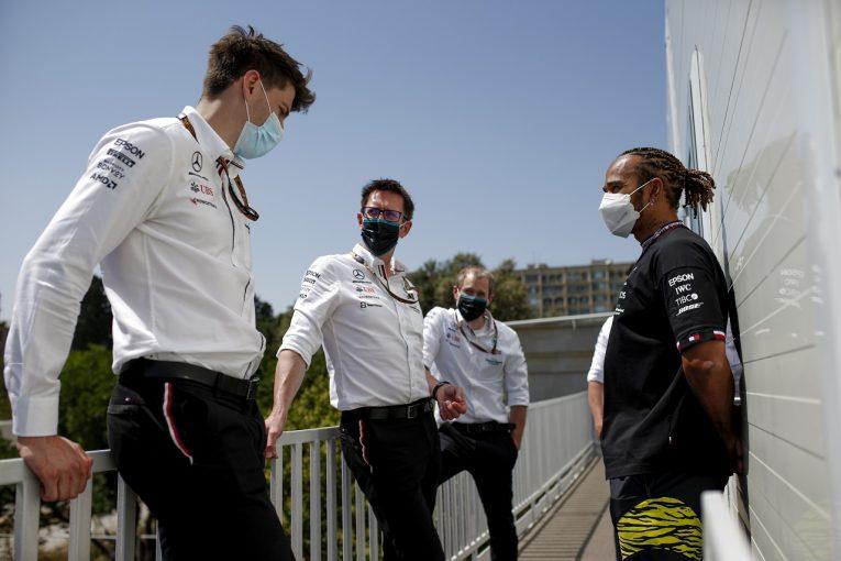 F1 | メルセデス、レッドブル・ホンダとの1秒差に困惑「何か根本的に間違ったところがある」/F1第6戦金曜