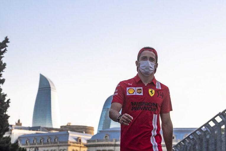 F1   ルクレール、クラッシュも4番手「あまりに快適でプッシュしすぎた」フェラーリ/F1第6戦金曜
