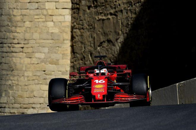 2021年F1第6戦アゼルバイジャンGP シャルル・ルクレール(フェラーリ)