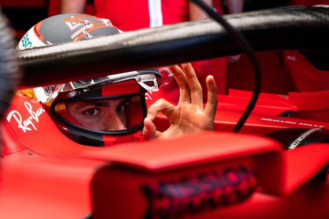 2021年F1第6戦アゼルバイジャンGP カルロス・サインツJr.(フェラーリ)