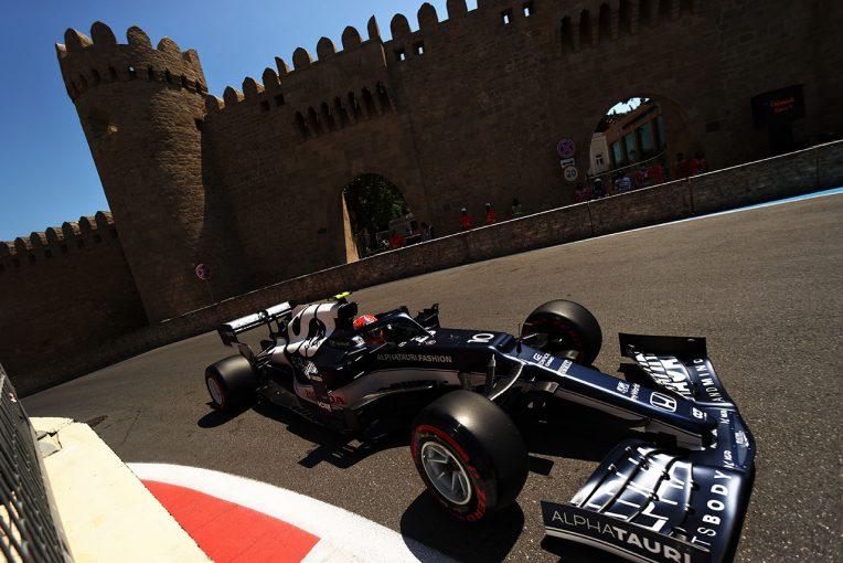 F1 | アルファタウリ・ホンダのガスリーが最速。角田は8番手【タイム結果】F1第6戦アゼルバイジャンGPフリー走行3回目