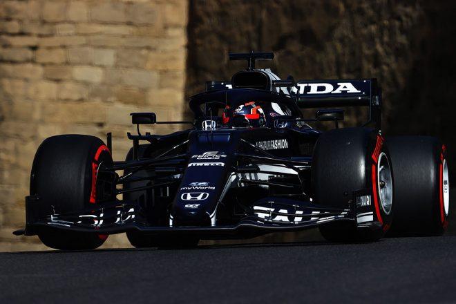 2021年F1第6戦アゼルバイジャンGP 2021年F1第6戦アゼルバイジャンGP 角田裕毅(アルファタウリ・ホンダ)