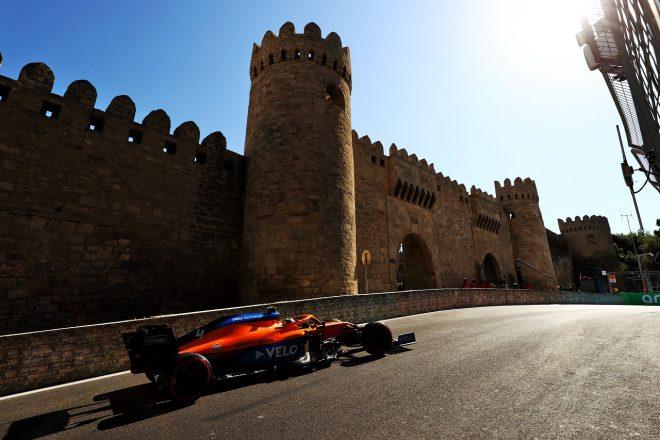 2021年F1第6戦アゼルバイジャンGP ランド・ノリス(マクラーレン)