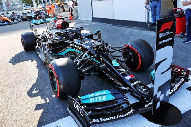 2021年F1第6戦アゼルバイジャンGP ルイス・ハミルトン(メルセデス)が予選2番手
