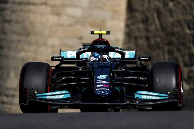2021年F1第6戦アゼルバイジャンGP バルテリ・ボッタス(メルセデス)
