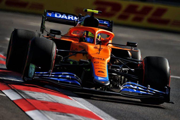 F1 | ノリスが3グリッド降格。角田裕毅は7番手から/2021年F1第6戦アゼルバイジャンGPグリッド