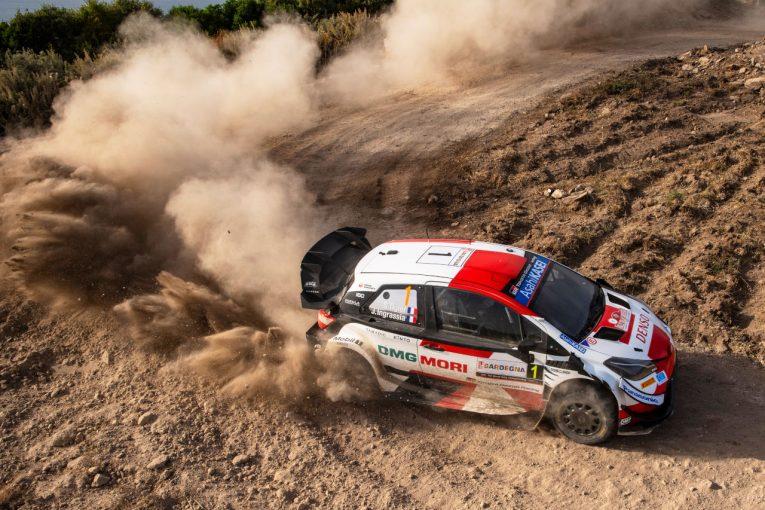 ラリー/WRC   オジエが今季3勝目。トヨタ1-2、勝田貴元は自己ベストタイの4位/WRCイタリア