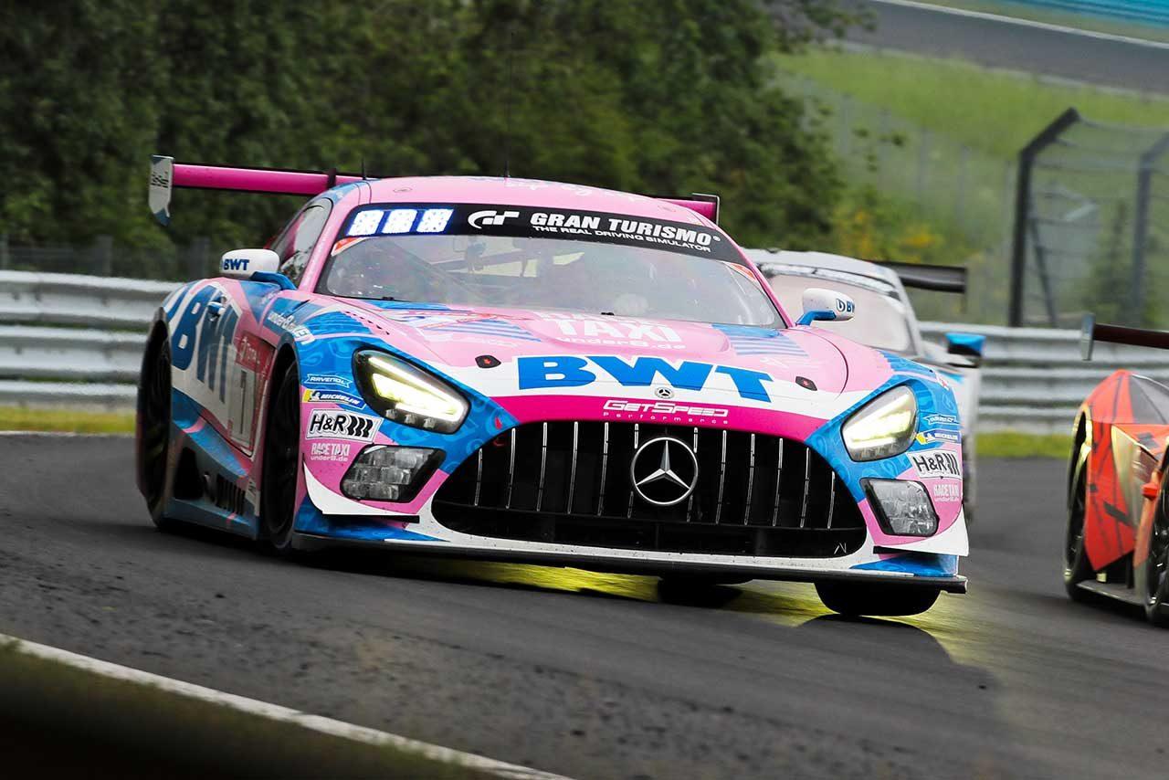 メルセデスAMG・チーム・ゲットスピードの7号車メルセデスAMG GT3