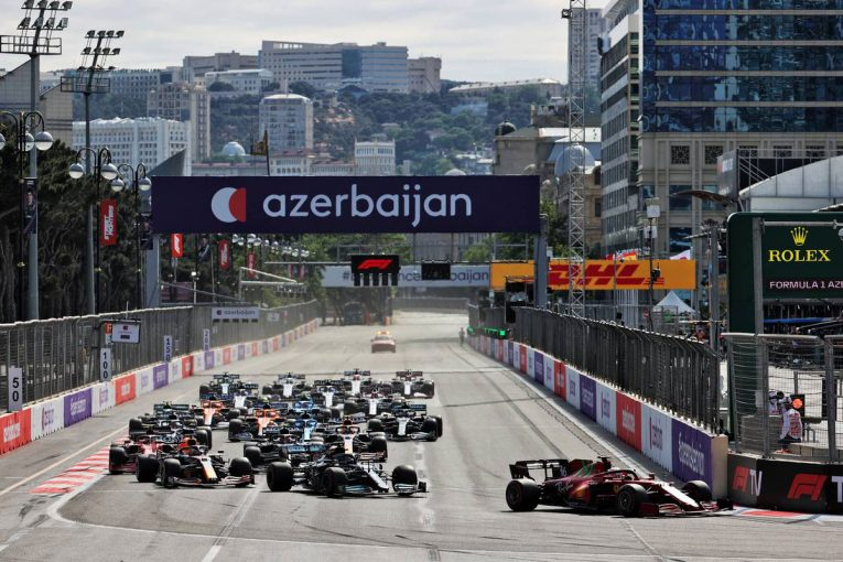 F1 | 【ポイントランキング】F1第6戦アゼルバイジャンGP終了時点