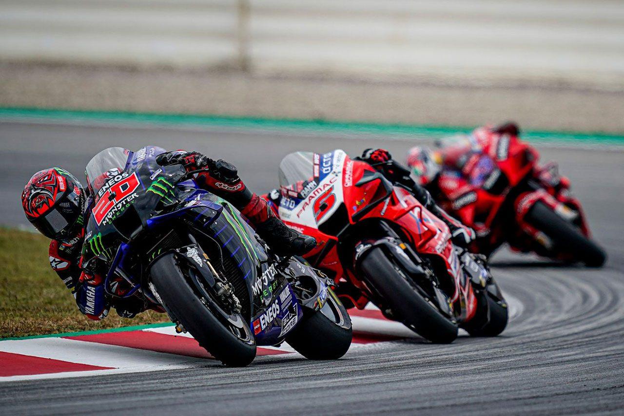 クアルタラロ、レーシングスーツと胸部プロテクターの装着違反でペナルティ。さらに3秒加算され6位に降格/MotoGP第7戦カタルーニャGP