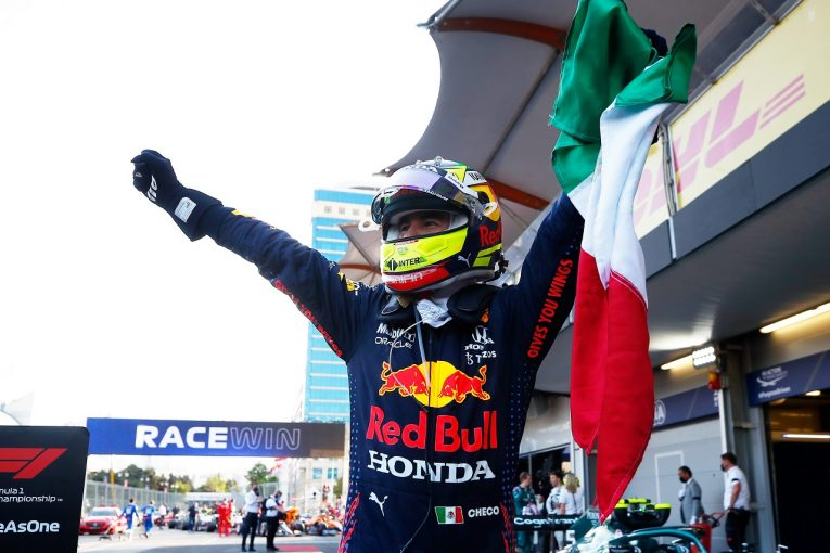 F1 | ペレス、トラブルを抱え薄氷の勝利「リタイア寸前。最後の2周は本当に大変だった」レッドブル・ホンダ/F1第6戦
