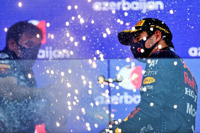 2021年F1第6戦アゼルバイジャンGP セルジオ・ペレス(レッドブル・ホンダ)が優勝