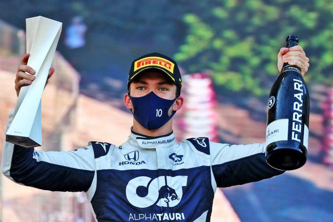 2021年F1第6戦アゼルバイジャンGP ピエール・ガスリー(アルファタウリ・ホンダ)が3位を獲得