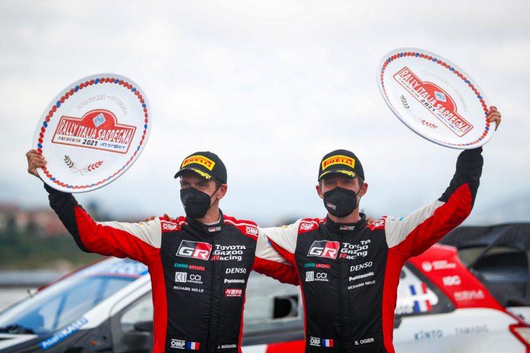 ラリー/WRC | 今季3勝目挙げたオジエ「この結果は想像していなかった」/WRC第5戦イタリア デイ3後コメント