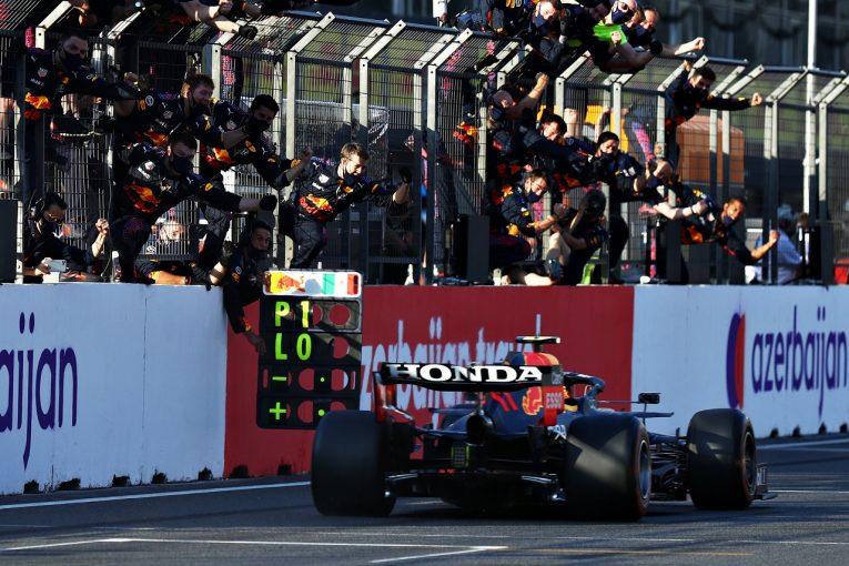 F1 | ホンダ、満足のPUパフォーマンスで通算81勝&ダブル表彰台「4台Q3進出の速さが好結果に結びついた」と田辺TD/F1第6戦