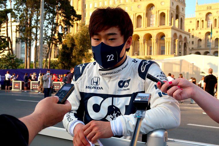 F1   【角田裕毅F1第6戦密着】自己最高7位入賞も、終盤のポジションダウンに戸惑い「できる限りのことをしたのに……」