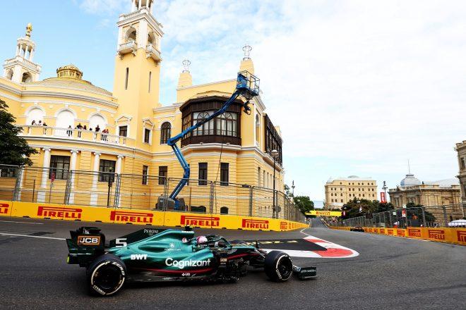 2021年F1第6戦アゼルバイジャンGP セバスチャン・ベッテル(アストンマーティン)