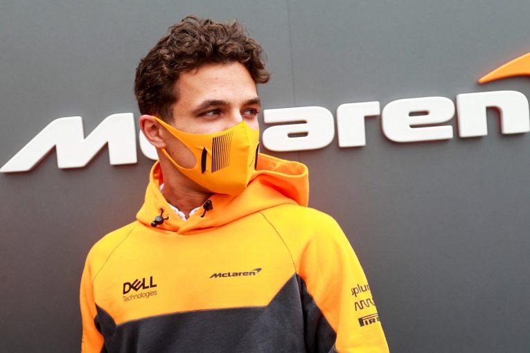 F1   ノリス5位「満足の結果。1周目は不運だったがいいリカバリーができた」マクラーレン/F1第6戦