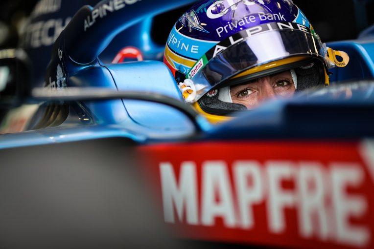 F1 | アロンソ6位「最後の2周はアグレッシブに攻めた。最高に楽しかったよ」アルピーヌ/F1第6戦