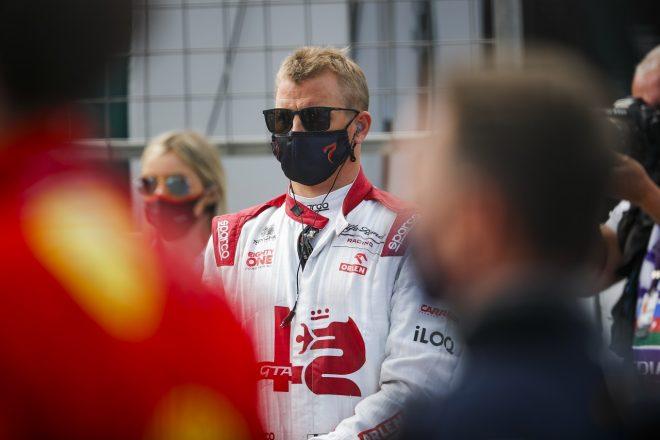 2021年F1第6戦アゼルバイジャンGP キミ・ライコネン(アルファロメオ)