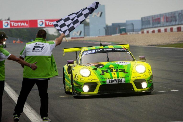 海外レース他   マンタイ・レーシング、ニュルブルクリンク24時間通算7勝目は「非常に短く激しい」レースに
