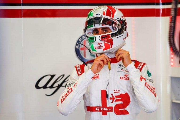 F1   ジョビナッツィ「ブレーキに問題があり楽なレースではなかったが、最善の結果」:アルファロメオ F1第6戦決勝