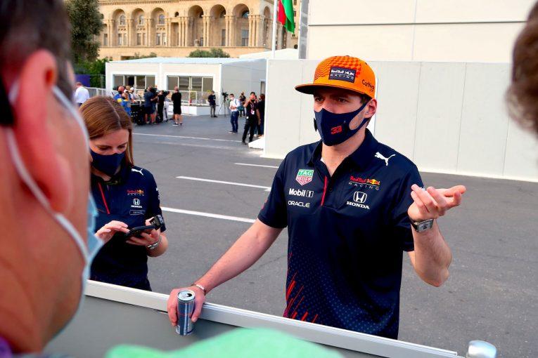 F1 | レッドブル・ホンダ密着:チームとして戦い、ペレスの優勝を喜んだフェルスタッペン。ピレリの見解には納得できず