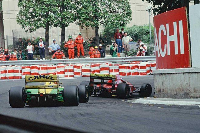 1992年モナコGPでは予選4位を獲得。エンジンを除けば基本は悪くないマシンであった。