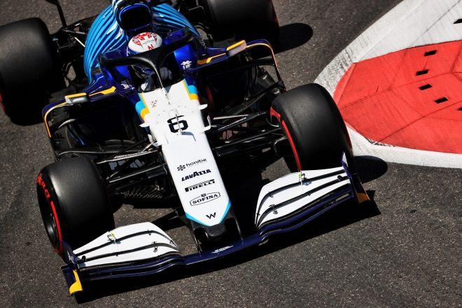 2021年F1第6戦アゼルバイジャンGP ニコラス・ラティフィ(ウイリアムズ)