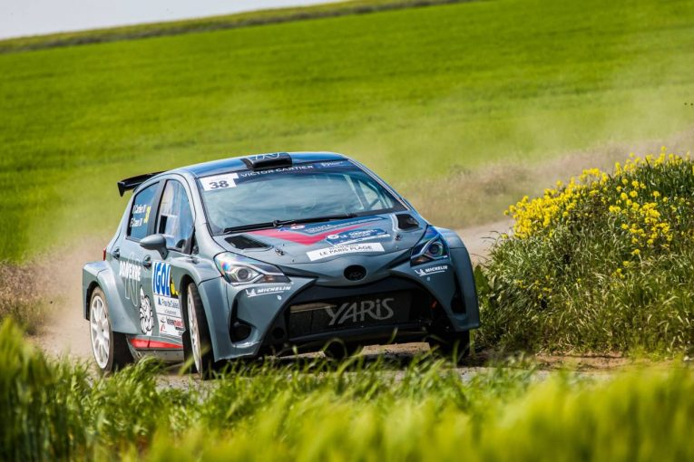 ラリー/WRC   フランス発『トヨタ・ヤリス・ラリー2キット』参上。ERC開幕戦でライバル勢と対決へ