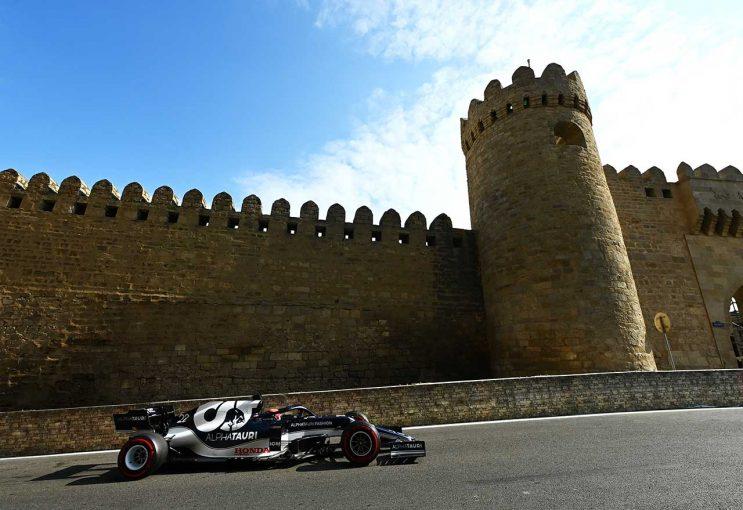 F1   キャリア初走行のバクーでベストリザルト「確実に前進している」/角田裕毅の海外メディア評 F1第6戦